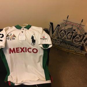 Rare Ralph Lauren polo Mexico